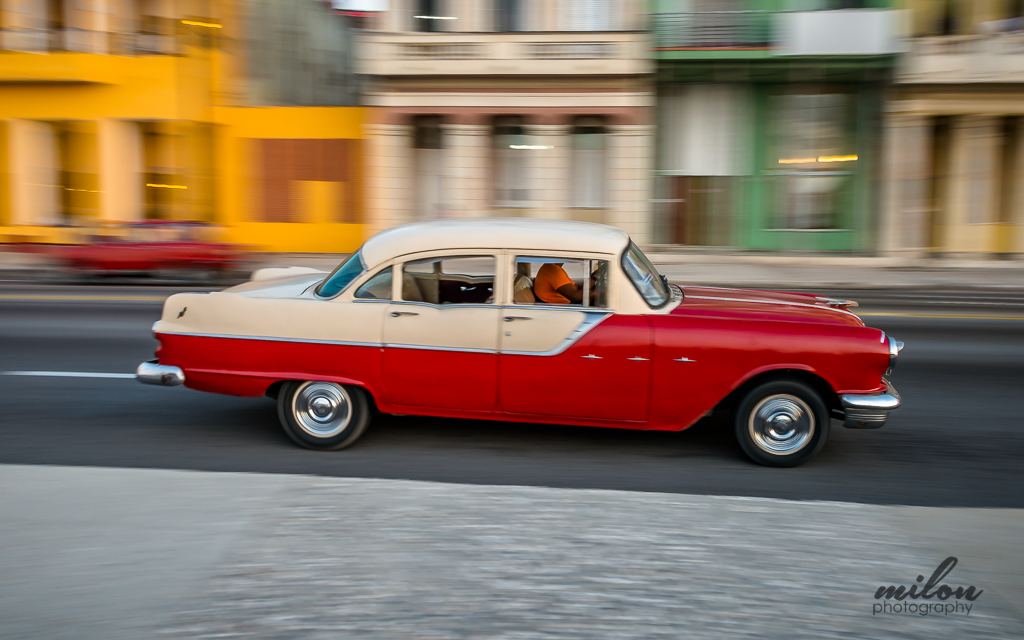 Milon Photography Cuban Classic Cars